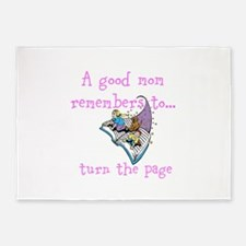 Turn The Page 5'x7'Area Rug