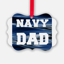 Navy Dad Ornament