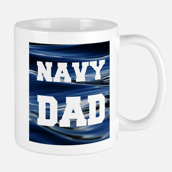 Navy Dad Mugs