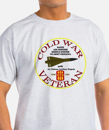 Cold War Hawk Okinawa White T-Shirt