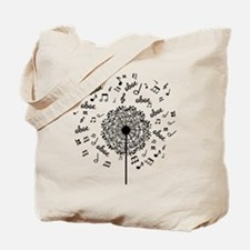 Oboe Player Music dandelion Tote Bag