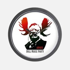 Bull Moose Party Wall Clock