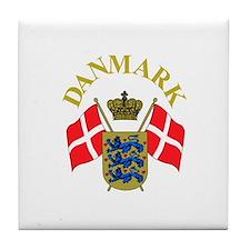 2 flags Tile Coaster