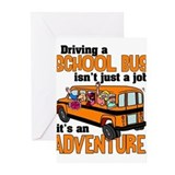 School bus driver Greeting Cards (20 Pack)
