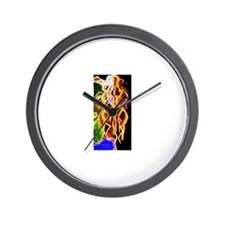 Funny Staunch Wall Clock