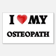 I love my Osteopath Decal