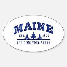 Maine Est. 1820 Sticker (Oval)