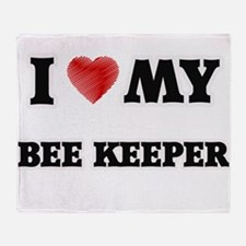 I love my Bee Keeper Throw Blanket