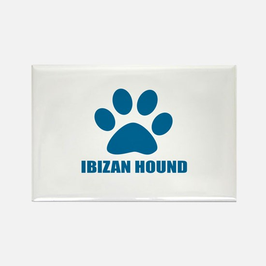Ibizan Hound Dog Lover Designs Rectangle Magnet