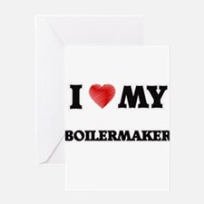 I love my Boilermaker Greeting Cards