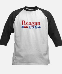 Reagan 1984 -Distressed Logo Baseball Jersey