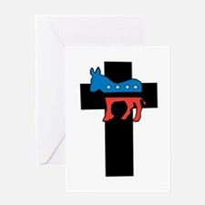 Christian Democrat Greeting Card