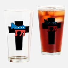 Christian Democrat Drinking Glass