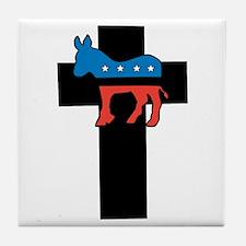 Christian Democrat Tile Coaster