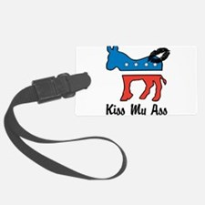 Kiss My ASS Luggage Tag
