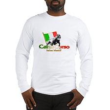 Cane Corso run Long Sleeve T-Shirt