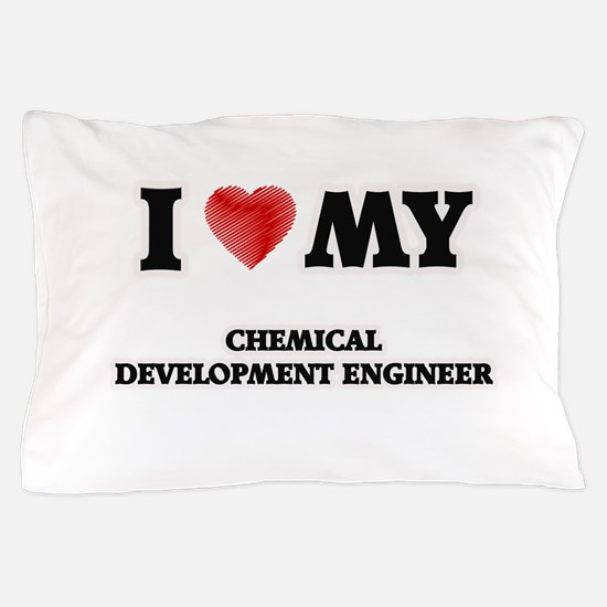 I love my Chemical Development Enginee Pillow Case