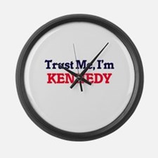 Trust Me, I'm Kennedy Large Wall Clock