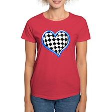 Racing Heart Gold Tee