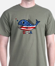 American Fishy T-Shirt