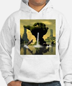 Swimming dolphins Hoodie