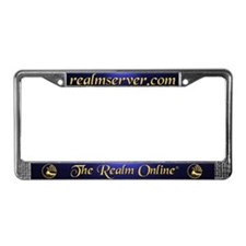 Realm License Frame (Blue)
