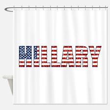 glitter Hillary Shower Curtain