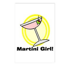 Martini Girl! Postcards (Package of 8)
