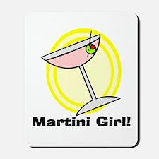 Martini Girl! Mousepad