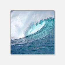 Waimea Bay Big Surf Hawaii Sticker