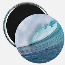 Waimea Bay Big Surf Hawaii Magnets