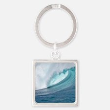 Waimea Bay Big Surf Hawaii Keychains