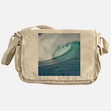 Waimea Bay Big Surf Hawaii Messenger Bag