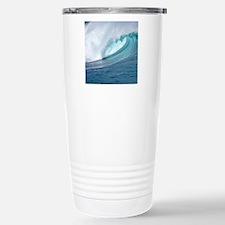 Waimea Bay Big Surf Hawaii Travel Mug