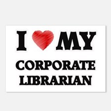 I love my Corporate Libra Postcards (Package of 8)