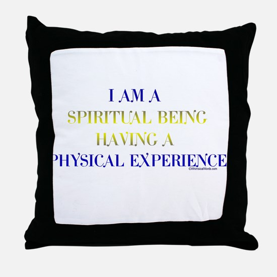 I AM A SPIRITUAL BEING HAVING A PHYSICAL EXPERIENC