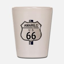 Cute Highway Shot Glass