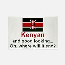 Kenya-Good Looking Rectangle Magnet