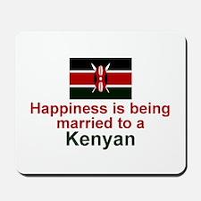 Kenya-Happily Married Mousepad