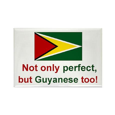 Guyana-Perfect Rectangle Magnet