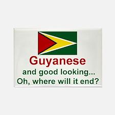 Guyana-Good Looking Rectangle Magnet