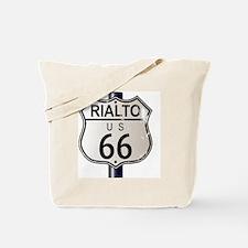 Unique Route 66 rialto Tote Bag