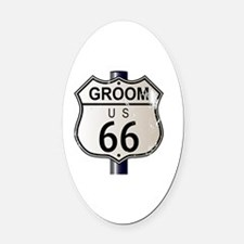 Funny Mother of the groom Oval Car Magnet