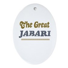Jabari Oval Ornament