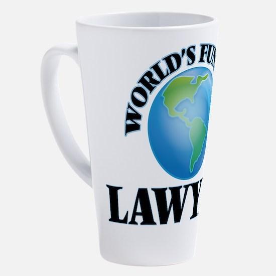 Cute Employment 17 oz Latte Mug