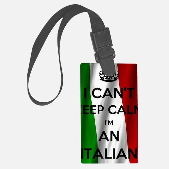 Cute Italy flag Luggage Tag