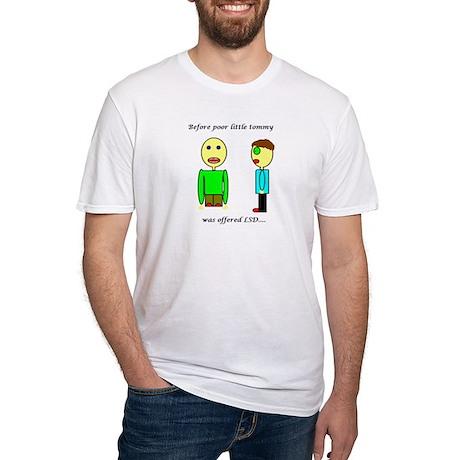 LSD Fitted T-Shirt(white)