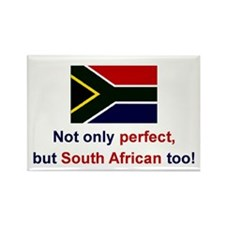 S Africa-Perfect Rectangle Magnet