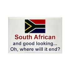 S Africa-Good Lkg Rectangle Magnet