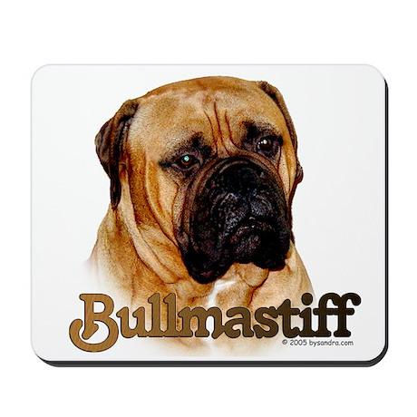 Bullmastiff - color Mousepad